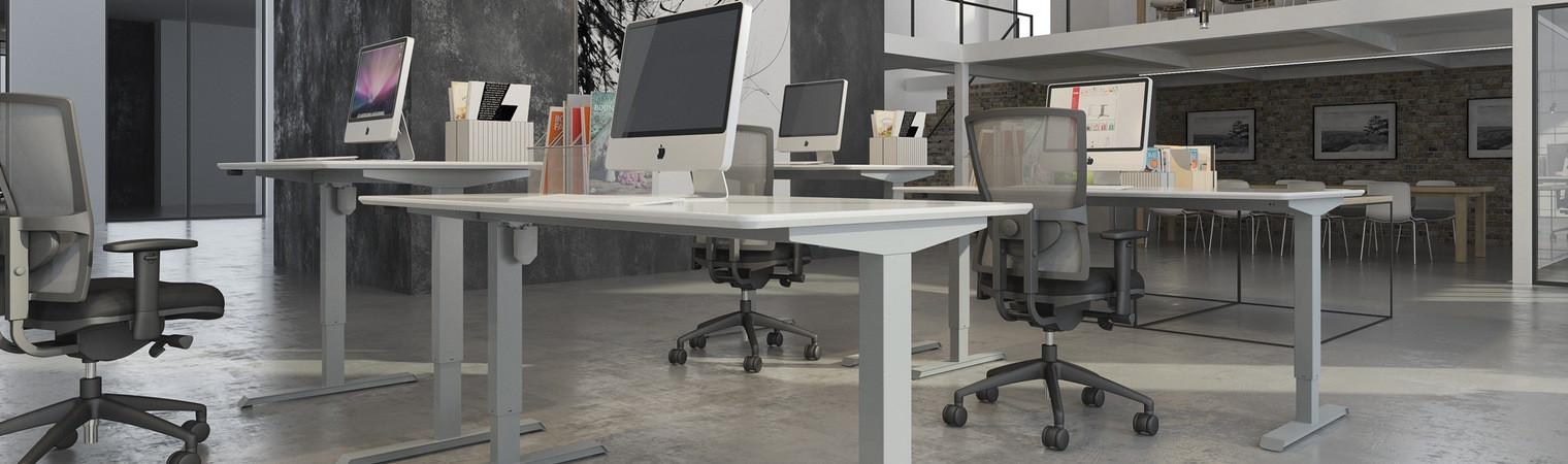 Straight Sit2Stand Desk