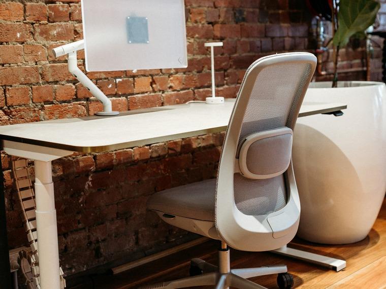 Luxe Desk White