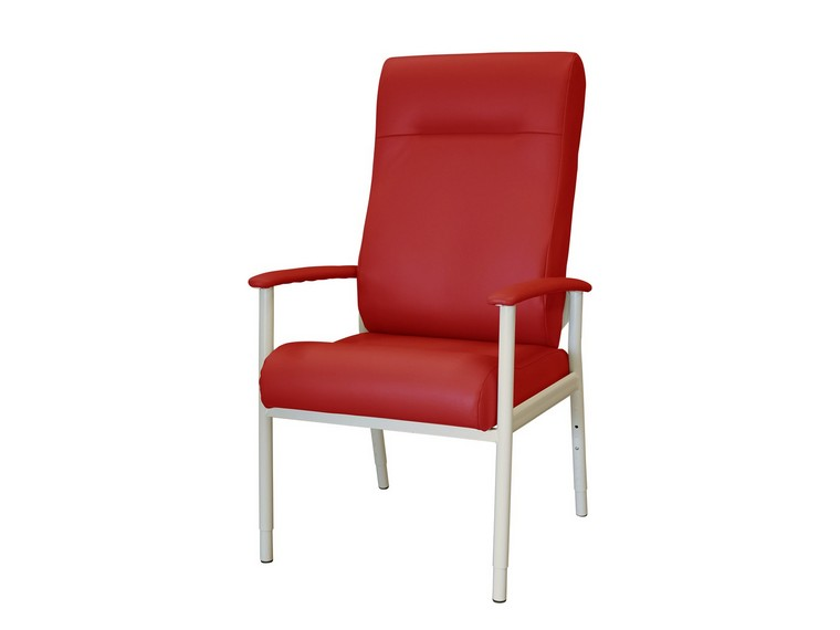 Chelsea Day Chair - High Back - Red