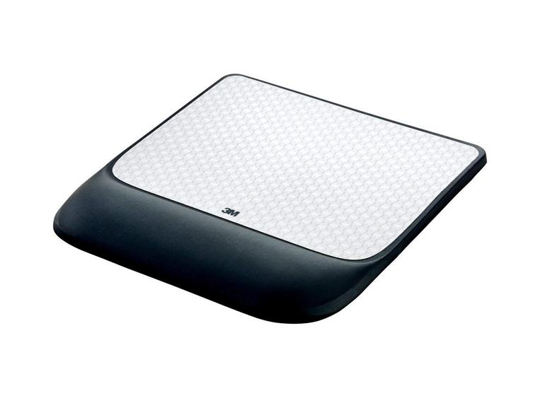 M Precise Mouse Pad with Gel Wrist Rest