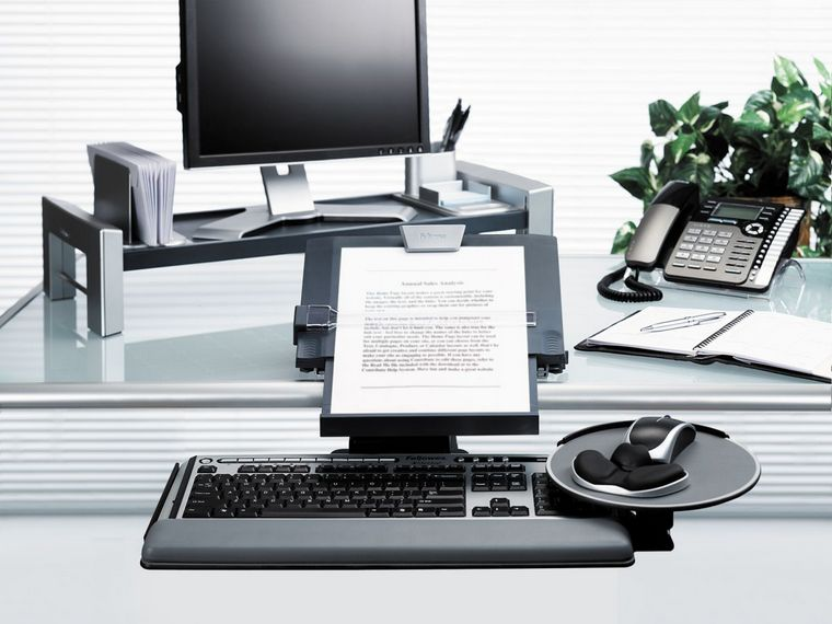 Fellowes Professional In-Line Copyholder