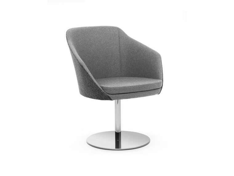 Annette Chair Lounge - Polished Disc