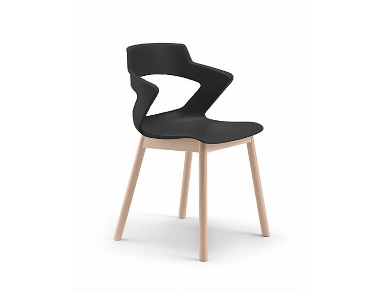 Zen Timber Visitor Chair Melbourne