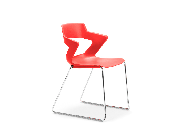 Zen Visitor Chair - Sled