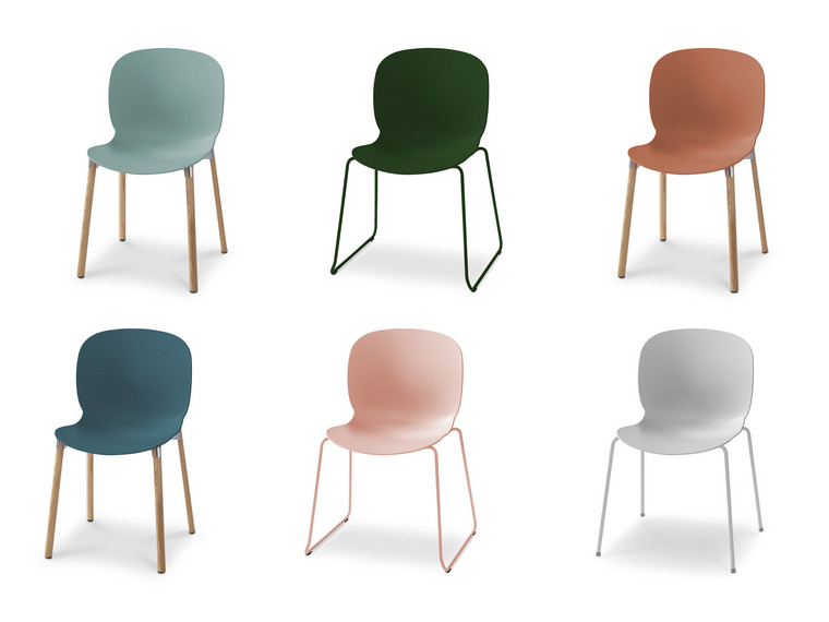 Noor Colourful Visitor Chair