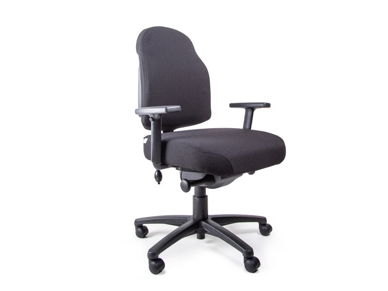 Flexi Plush LB Low Back Ergonomic Office Chair Melbourne