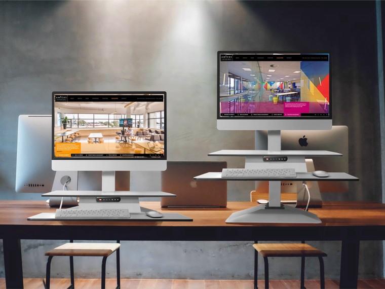 Standesk Memory Height Adjustable Sit Stand Ergonomic Desk
