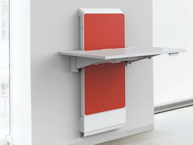 JÜV Wall SitStand Ergonomic Unit