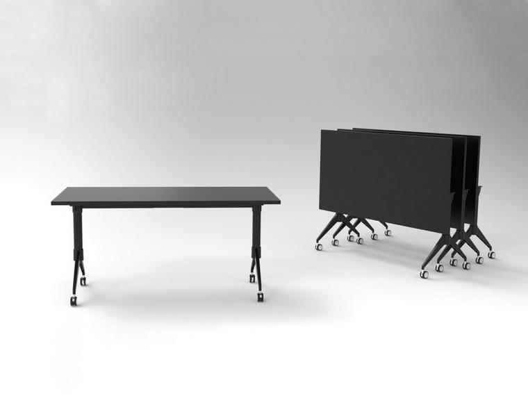 E Series Narrow Flip Table Compact Desk