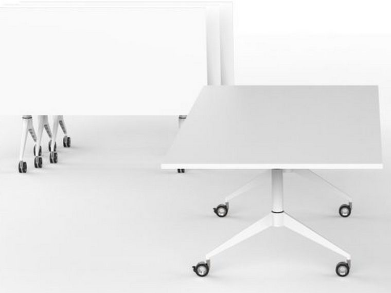 E Series Wide Flip Table Compact Desk
