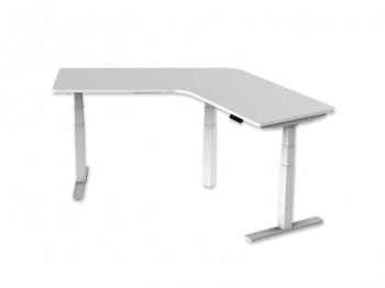 Curve Sit to Stand Electric Desk