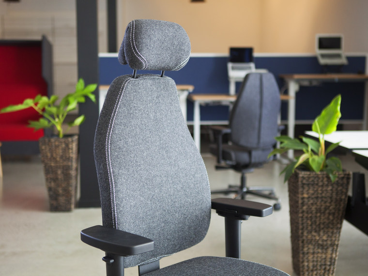 therapod seating; therapod X with Headrest
